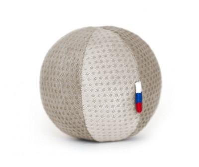 Мячик бежевый  | 6 см