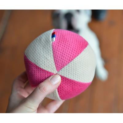 Мячик розовый для собаки | 15 см