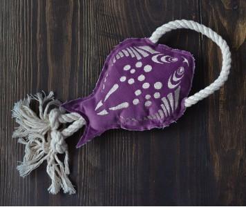 Морской скат фиолетовый...