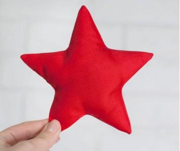 Звездочка красная...