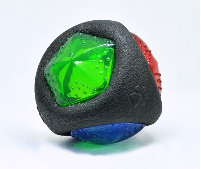 Мяч светящийся с пищалкой | 7 см