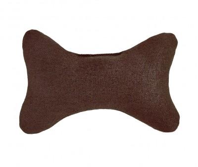 Игрушка  КОСТОЧКА / рогожка, коричневая