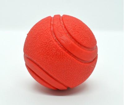 Мяч резиновый твердый, красный | 7 см