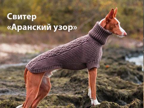 свитер для борзой, свитер для левретки