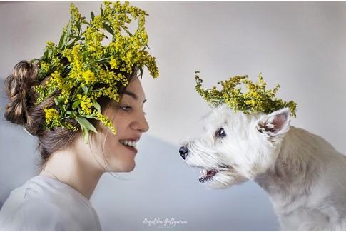 Анжелика Гольтяева  - фотограф анималист.