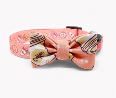 """Ошейник-бабочка для собак """"Пончики"""""""
