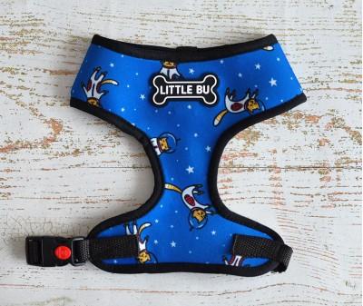 """Шлейка для маленьких собак """"Котики"""", размеры XS-S"""