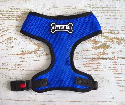 """Шлейка для маленьких собак """"Blue"""", размеры XS-S"""