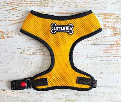 "Шлейка для маленьких собак ""Yellow"", размеры XS-S"