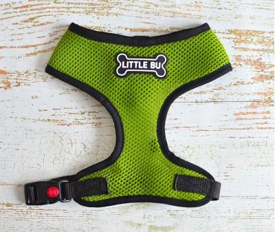 """Шлейка для маленьких собак """"Green"""", размеры XS-S"""