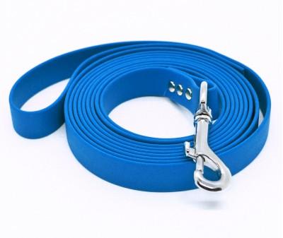 "Поводок из биотана Dogbe ""Локет"", синий - 20 мм * 3 м"