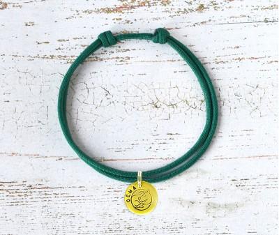 Шнурок для адресника  | зеленый