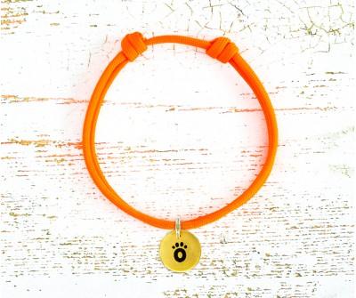 Шнурок   | оранжевый Neon...