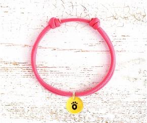 Шнурок для адресника    розовый ...