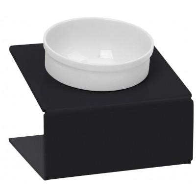 "Миска на подставке ""Artmiska""| черная"