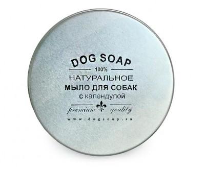 Натуральное мыло - шампунь для собак с календулой | 90 гр (в баночке)