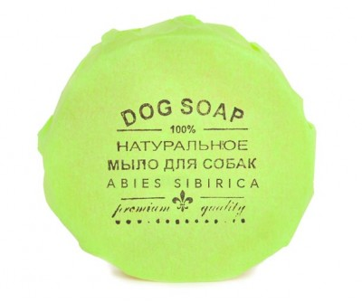 Натуральное мыло (твёрдый шампунь)  ABIES SIBIRICA | 90 гр