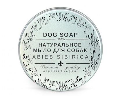 Натуральное мыло (твёрдый шампунь)  ABIES SIBIRICA | 90 гр (в баночке)