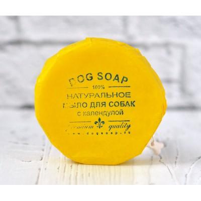 Натуральное мыло-шампунь для собак с календулой | 90 гр