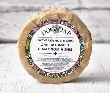 Мыло - шампунь с маслом НИМ | 90 гр...