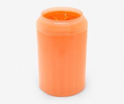 Лапомойка для собак, оранжевая - высота 15 см /  L