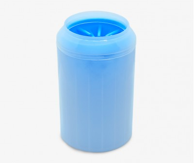 Лапомойка для собак, голубая - высота 15 см /  L