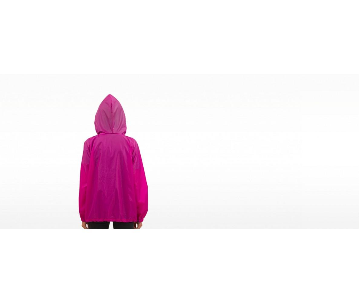 Куртка ветровка на молнии    малина