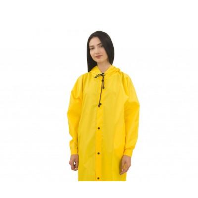 Дождевик женский на кнопках | желтый