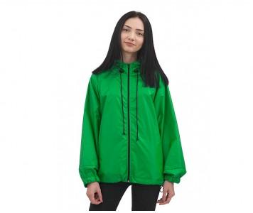 Куртка  ветровка на молнии  | зелен...