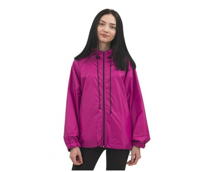 Куртка  ветровка на молнии  | малина