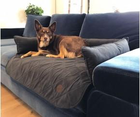 Лежак на диван , коричневый (НА ЗАК...