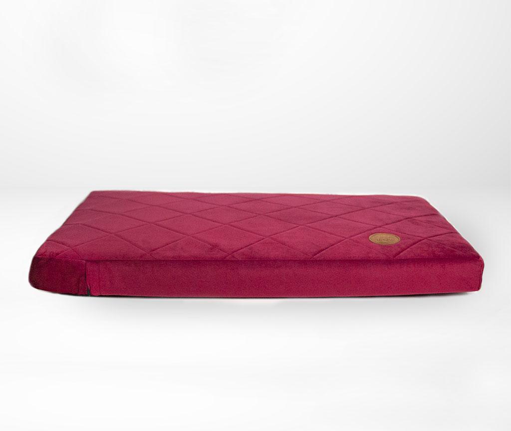 Лежак для средних собак 70 x 50 см   вишня