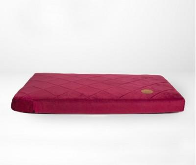 Лежак для собак 70 x 50 см | вишня