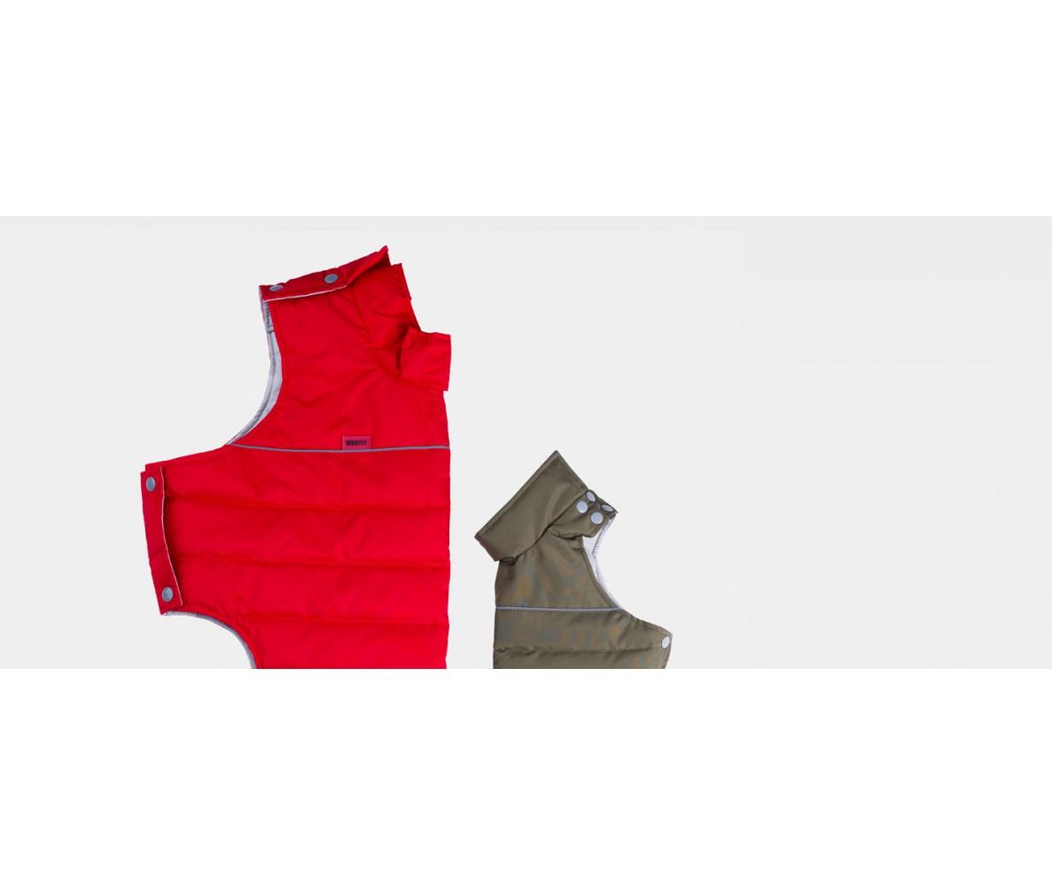 Теплый жилет Active красный | S-M