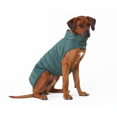 Теплый жилет Active для большой собаки,  болотный  | XL