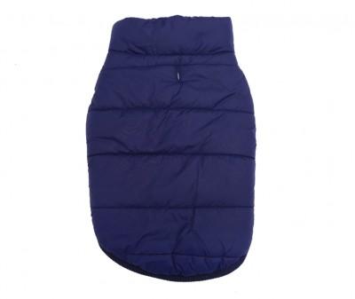 Куртка жилетка для собак зимняя, синяя / S-XXL