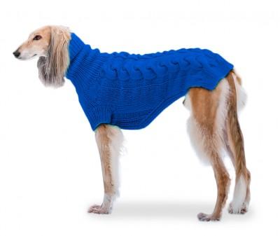 "Свитер для большой собаки ""Lori"" (на заказ)  | синий №19"