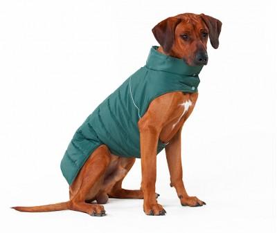 Теплый жилет Active для большой собаки,  болотный  | XXL