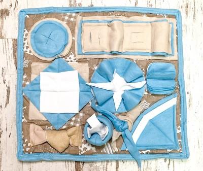 Нюхательный коврик голубой | 50*45 см