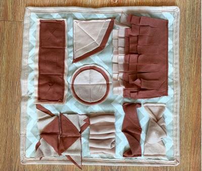 Нюхательный коврик  бежевый| 45*45 см