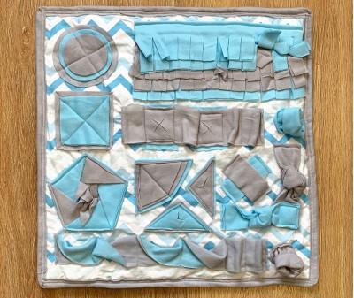 Нюхательный коврик голубой, мод.1 | 55*55 см