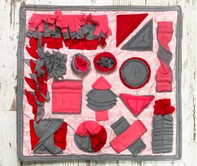 Нюхательный коврик, розовый | 56*60 см