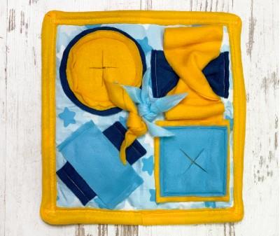 Нюхательный коврик MINIK,  желтый | 30*30 см