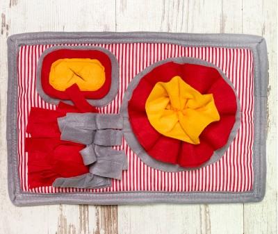 Нюхательный коврик MINIK красный | 38*26