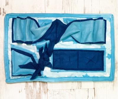 Нюхательный коврик MINIK,  голубой | 46*29 см