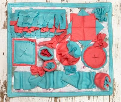 Нюхательный коврик лазурный, мод.1 | 55*55 см