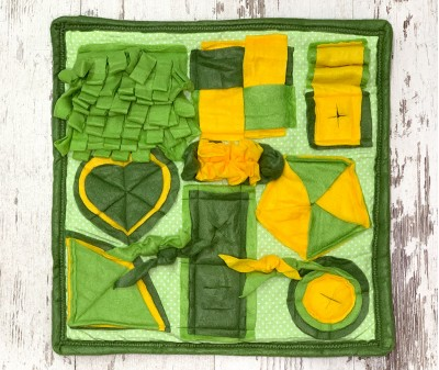 Нюхательный коврик, зеленый |50*50 см