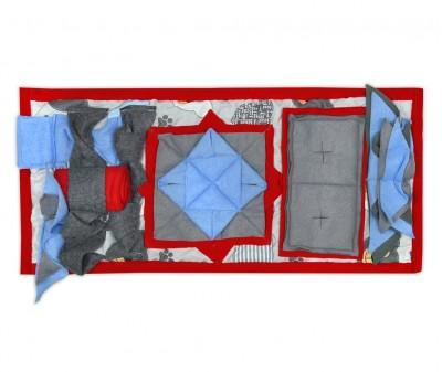 Нюхательный коврик 50*23 /  красный, мод 3