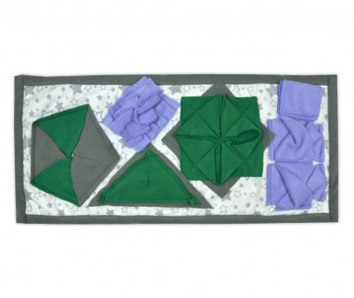 Нюхательный коврик 50*23 /  зеленый, мод 2