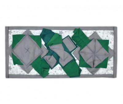 Нюхательный коврик 50*23 /  зеленый, мод 1